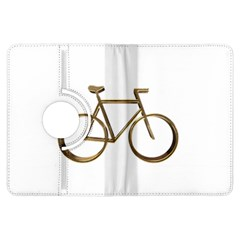Elegant Gold Look Bicycle Cycling  Kindle Fire Hdx Flip 360 Case