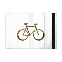Elegant Gold Look Bicycle Cycling  Ipad Mini 2 Flip Cases