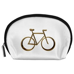 Elegant Gold Look Bicycle Cycling  Accessory Pouches (large)