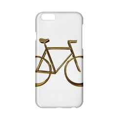 Elegant Gold Look Bicycle Cycling  Apple Iphone 6/6s Hardshell Case