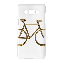 Elegant Gold Look Bicycle Cycling  Samsung Galaxy A5 Hardshell Case