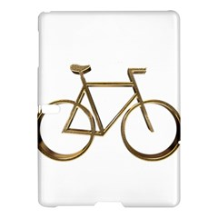 Elegant Gold Look Bicycle Cycling  Samsung Galaxy Tab S (10 5 ) Hardshell Case