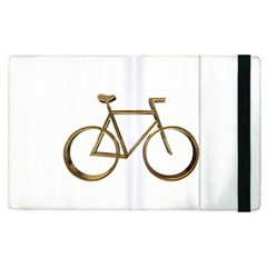 Elegant Gold Look Bicycle Cycling  Apple Ipad Pro 9 7   Flip Case