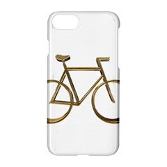 Elegant Gold Look Bicycle Cycling  Apple Iphone 7 Hardshell Case