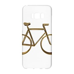 Elegant Gold Look Bicycle Cycling  Samsung Galaxy S8 Hardshell Case