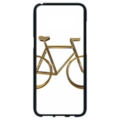 Elegant Gold Look Bicycle Cycling  Samsung Galaxy S8 Black Seamless Case