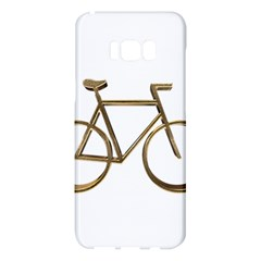 Elegant Gold Look Bicycle Cycling  Samsung Galaxy S8 Plus Hardshell Case