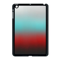 Frosted Blue And Red Apple Ipad Mini Case (black)