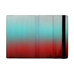 Frosted Blue And Red Ipad Mini 2 Flip Cases