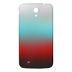 Frosted Blue And Red Samsung Galaxy Mega I9200 Hardshell Back Case