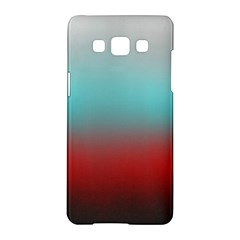 Frosted Blue And Red Samsung Galaxy A5 Hardshell Case