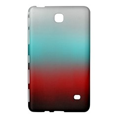 Frosted Blue And Red Samsung Galaxy Tab 4 (7 ) Hardshell Case