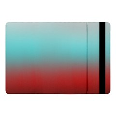 Frosted Blue And Red Apple Ipad Pro 10 5   Flip Case