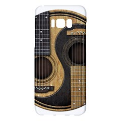 Old And Worn Acoustic Guitars Yin Yang Samsung Galaxy S8 Plus Hardshell Case