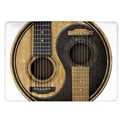 Old And Worn Acoustic Guitars Yin Yang Samsung Galaxy Tab 10 1  P7500 Flip Case
