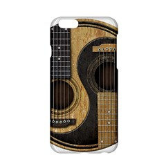 Old And Worn Acoustic Guitars Yin Yang Apple Iphone 6/6s Hardshell Case