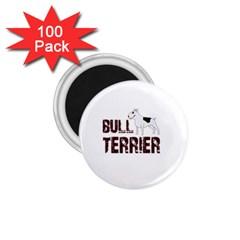 Bull Terrier  1 75  Magnets (100 Pack)