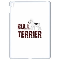 Bull Terrier  Apple Ipad Pro 9 7   White Seamless Case