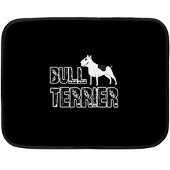 Bull Terrier  Fleece Blanket (mini)
