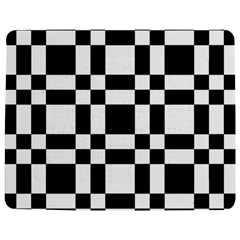 Checkerboard Black And White Jigsaw Puzzle Photo Stand (rectangular)