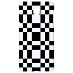 Checkerboard Black And White Samsung C9 Pro Hardshell Case