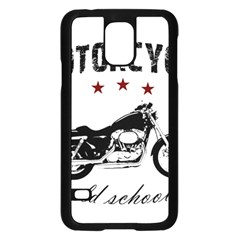 Motorcycle Old School Samsung Galaxy S5 Case (black)