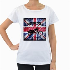 Motorcycle Old School Women s Loose Fit T Shirt (white)
