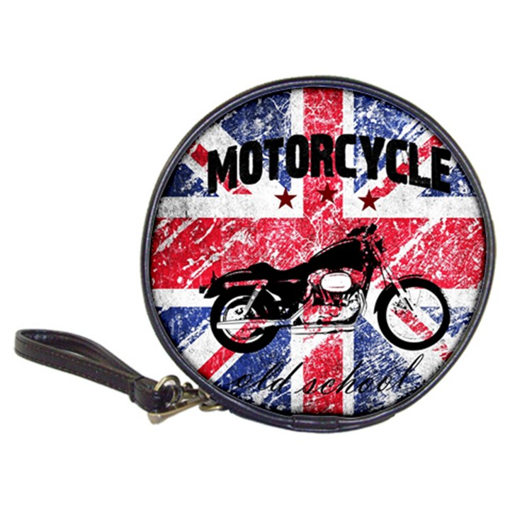 Motorcycle old school Classic 20-CD Wallets