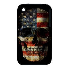 American Flag Skull Iphone 3s/3gs