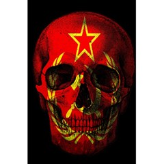 Russian Flag Skull 5 5  X 8 5  Notebooks