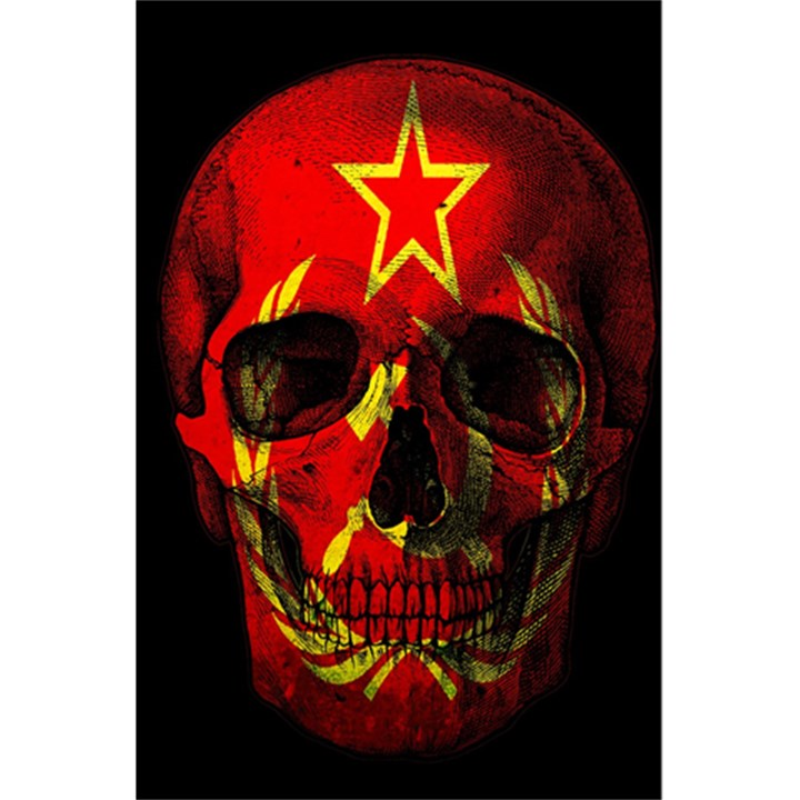Russian flag skull 5.5  x 8.5  Notebooks