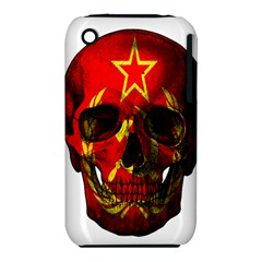 Russian Flag Skull Iphone 3s/3gs