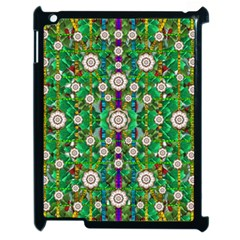 Pearl Flowers In The Glowing Forest Apple Ipad 2 Case (black)
