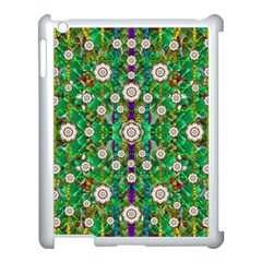 Pearl Flowers In The Glowing Forest Apple Ipad 3/4 Case (white)
