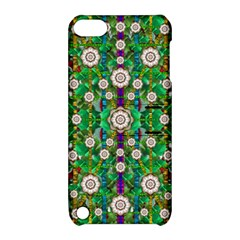Pearl Flowers In The Glowing Forest Apple Ipod Touch 5 Hardshell Case With Stand