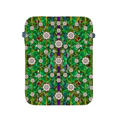 Pearl Flowers In The Glowing Forest Apple Ipad 2/3/4 Protective Soft Cases