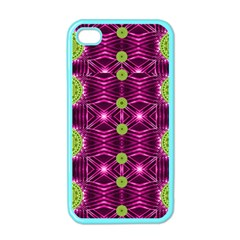 Lillie Of The Valley And Metal Apple Iphone 4 Case (color)