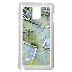 Another Modern Moment Yellow Samsung Galaxy Note 4 Case (white)