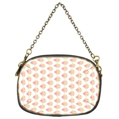 Geometric Losangle Pattern Rosy Chain Purses (two Sides)