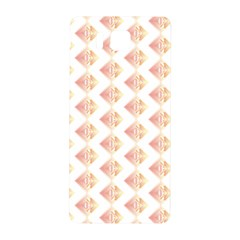 Geometric Losangle Pattern Rosy Samsung Galaxy Alpha Hardshell Back Case