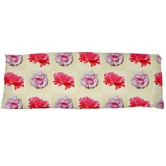 Yellow Floral Roses Pattern Body Pillow Case Dakimakura (two Sides)