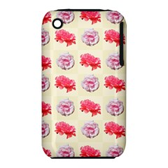 Yellow Floral Roses Pattern Iphone 3s/3gs