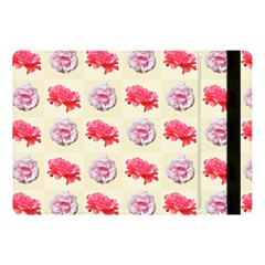 Yellow Floral Roses Pattern Apple Ipad Pro 10 5   Flip Case