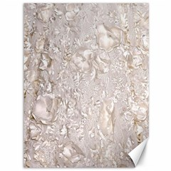 Off White Lace Pattern Canvas 36  X 48