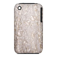 Off White Lace Pattern Iphone 3s/3gs