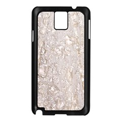 Off White Lace Pattern Samsung Galaxy Note 3 N9005 Case (black)
