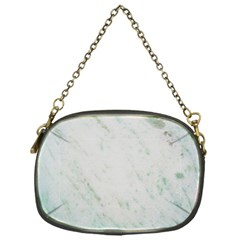 Greenish Marble Texture Pattern Chain Purses (one Side)