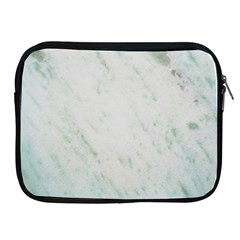 Greenish Marble Texture Pattern Apple Ipad 2/3/4 Zipper Cases