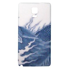 Blue Chinese Dragon Galaxy Note 4 Back Case