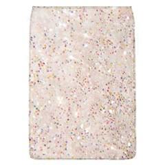 White Sparkle Glitter Pattern Flap Covers (l)